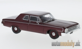 NEO - Dodge 330 Sedan, metallic-dark red, 1964 - 1:43
