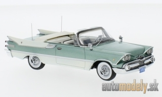 NEO - Dodge customs Royal Lancer Convertible, metallic-hellgrün/white, 1959 - 1:43