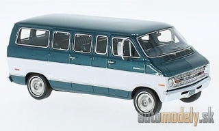 NEO - Dodge sportsman, metallic-grün/white, 1973 - 1:43