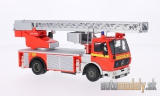 NEO - Mercedes 1422 Metz DLK 23-12, light red, fire brigade - 1:43