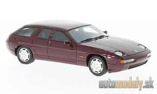 NEO - Porsche 928 H50 concept, dark red, 1987 - 1:43