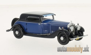 NEO - Rolls Royce Phantom II Continental Windovers Coupe, blue/dark blue, 1932 - 1:43