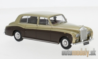 NEO - Rolls Royce Phantom VI EWB, gold/brown, RHD, 1968 - 1:43