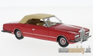 NEO - Rolls Royce Phantom VI Frua Drophead Coupe, red/beige, 1971 - 1:43