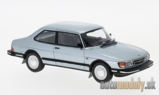 NEO - Saab 90, metallic-light blue, 1985 - 1:43