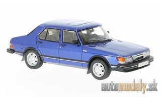 NEO - Saab 900 GLi, metallic-blue, 1981 - 1:43