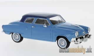 NEO - Studebaker Champion customs 2-door Sedan, light blue/dark blue, 1952 - 1:43