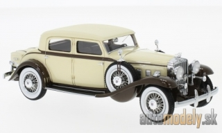 NEO - Stutz DV32 Monte Carlo Sedan by Weymann, beige/brown, 1933 - 1:43