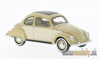 NEO - VW Stoll Coupe, dunkelbeige/light beige, 1952 - 1:43