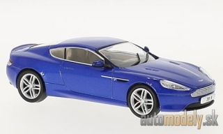 Oxford - Aston Martin DB9 Coupe, metallic-blue, RHD - 1:43