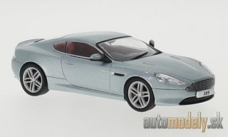 Oxford - Aston Martin DB9 Coupe, metallic-light blue, RHD - 1:43