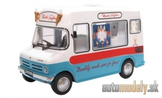 Oxford - Bedford CF Ice Cream Van, RHD, Mister Softee - 1:43