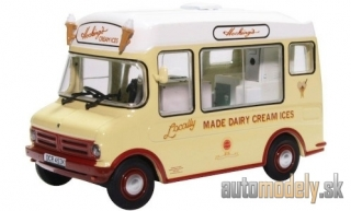 Oxford - Bedford CF, RHD, Morrison Hockings, Ice Cream Van - 1:43