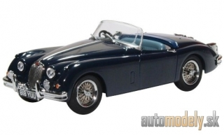 Oxford - Jaguar XK 150 Roadster, dark blue, RHD - 1:43