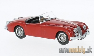 Oxford - Jaguar XK 150 Roadster, red, RHD - 1:43
