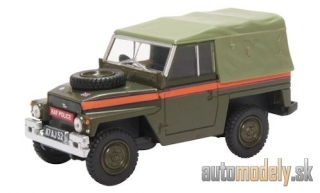 Oxford - Land Rover Lightweight Soft Top, RHD, RAF Police - 1:43