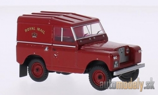 Oxford - Land Rover series II SWB, RHD, Royal Mail , Hardback - 1:43