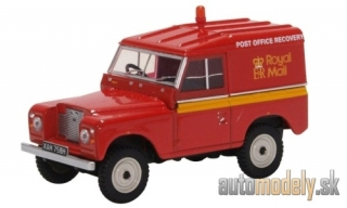 Oxford - Land Rover series IIA SWB Hard Top, RHD, Royal Mail Post Brehinol - 1:43