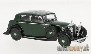 Oxford - Rolls Royce 25/30 Thrupp & Maberly, dunkelgrün/black, RHD - 1:43