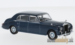 Oxford - Rolls Royce Rolls Royce Phantom V James Young, metallic-blue, RHD - 1:43