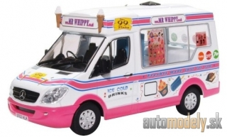 Oxford - Whitby Mondial Ice Cream Van, RHD, Mr. Whippy - 1:43