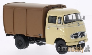 Premium ClassiXXs - Mercedes L 319, beige/brown, cattle transporter - 1:43