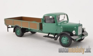 Premium ClassiXXs - Mercedes L1000 Express, blue, MB-customer service (mit Fenster) - 1:43