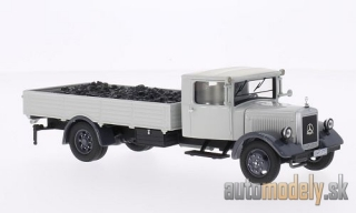 Premium ClassiXXs - Mercedes LO2750, grey, with coal - 1:43