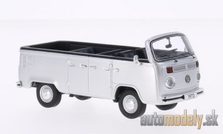 Premium ClassiXXs - VW T2b Open Air bus, silver, 1973 - 1:43