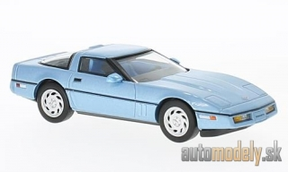 Premium X - Chevrolet Corvette (C4), metallic-light blue, 1984 - 1:43