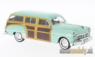 Premium X - Dodge Coronet Woody Wagon, hellgrün/wood optics, 1949 - 1:43