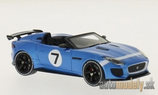 Premium X - Jaguar F-Type Project 7, blue, 2015 - 1:43