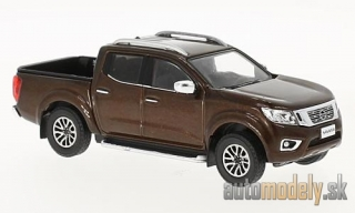 Premium X - Nissan Navara, metallic-brown, 2017 - 1:43