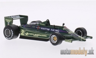 SpecialC.-79 - Lotus 79, No.2, team Lotus, Martini racing, formula 1, C.Reutemann, without showcase, 1979 - 1:43
