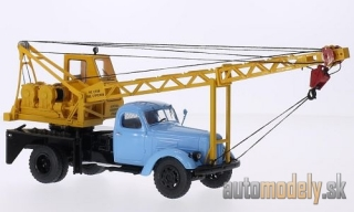 SSM - ZIL 164, light blue, AK-75 Kranwagen - 1:43