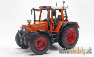 Weise-toys - Fendt Favorit 509C Turboshift, orange/white, 1994 - 1:32