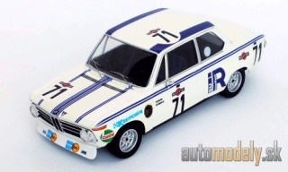 Trofeu - BMW 2002, No.71, 24h Spa, H.Hirth/G.Mohrs, 1973 - 1:43