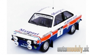 Trofeu - Ford Escort MK II RS 1800, No.1, Masport, Rallye WM, Rallye New Zealand, R.Brookes/C.Porter, 1978 - 1:43