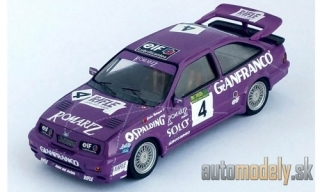 Trofeu - Ford Sierra Cosworth RS 500, No.4, Macau, C.Rodrigues, 1992 - 1:43
