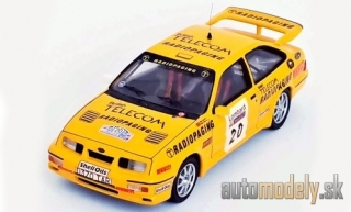 Trofeu - Ford Sierra RS Cosworth, No.20, british Telecom Radiopaging, Rallye WM, RAC Rallye, M.Lovell/R.Freeman, 1987 - 1:43