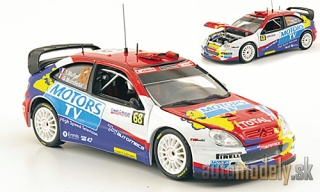 Vitesse - Citroen Xsara WRC, No.68, Motors TV, Rally France , Y.Muller / G.Mondesir, 2010 - 1:43