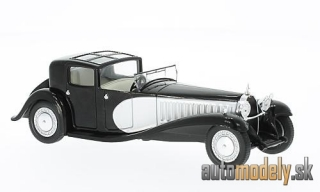 WhiteBox - Bugatti Type 41 Royale, black/silver, 1928 - 1:43