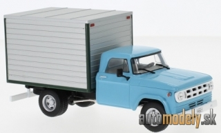 WhiteBox - Dodge D-400 Box Van, light blue/grey, 1971 - 1:43