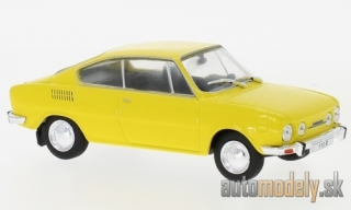 WhiteBox - Škoda 110 R, žltá, 1970 - 1:43
