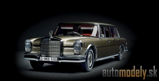 CMC - Mercedes-Benz 600 Pullman (W 100) Limousine with sunroof - 1:18