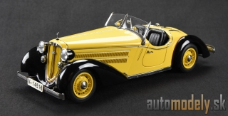 CMC - Audi 225 Front Roadster, 1935 (yellow/black) - 1:18