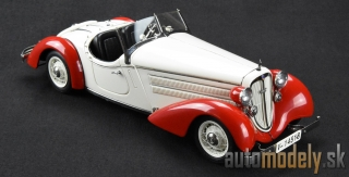 CMC - Audi 225 Front Roadster, 1935 (white/red) - 1:18