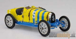 CMC - Bugatti T35 Nation Color Project – Sweden, 1924 - 1:18