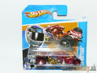 Hot Wheels V5499 - Thrill Racers Space 12 Spector 5/5