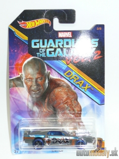 Hot Wheels DWD73 - Marvel Guardians Of The Galaxy Vol. 2 Drax Rivited 2/8